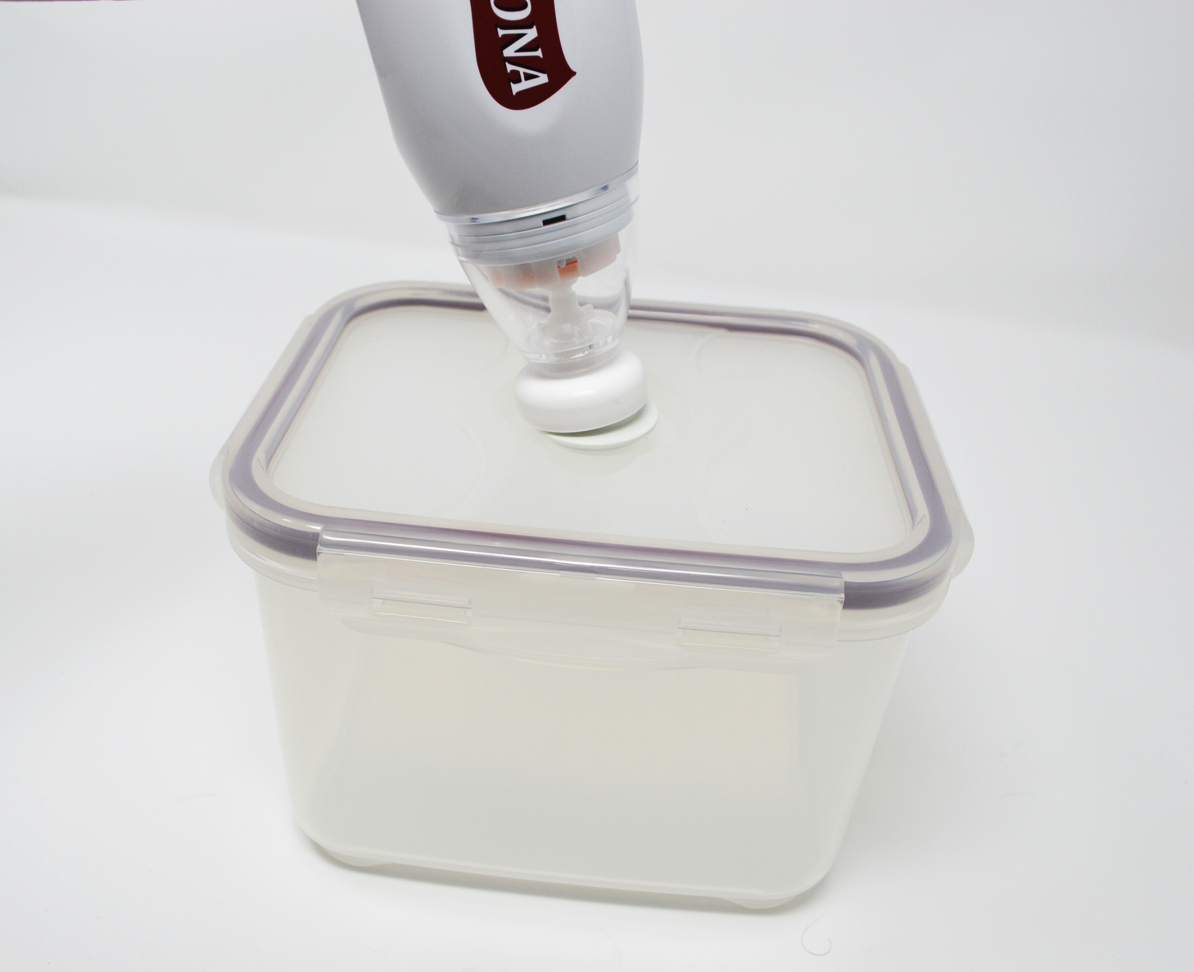 Icona Handheld Food Vacuum Sealer Must come with at least one Icona Handheld Vacuum Food Container Product Dimensions 2.5 x 2.5 x 10 inches Item Weight 8.8 ounces Shipping Weight Domestic Shipping Item can be shipped within U.S. International Shipping This item can be shipped to select countries outside of the U.S. Item model number VH-500